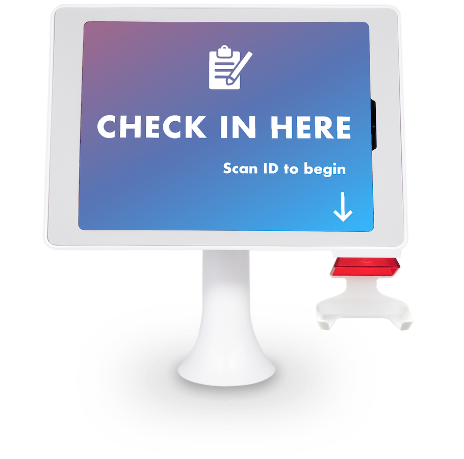 Aila Interactive Kiosk with Acuant ID Verification for Patient Check-in